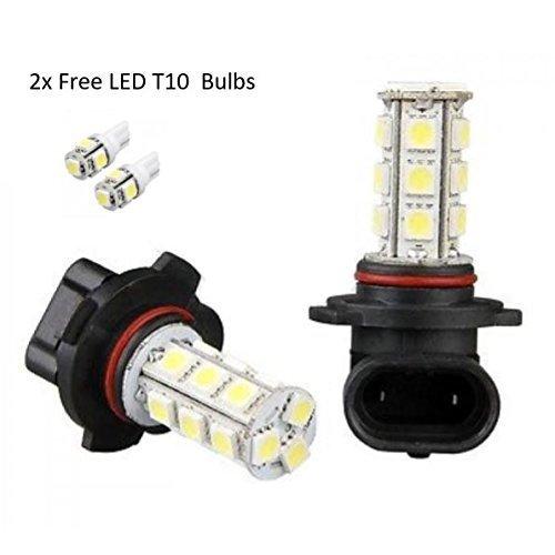H3 100w Super White Xenon 453 Head Light Fog Bulbs 12v Free 501 Led Sidelights