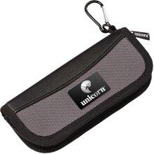 Unicorn Midi Darts Case - Wallet - Small Black & Compact Pack Of 3