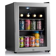 Subcold Super35 LED - Mini Fridge   35L Beer, Wine & Drinks Fridge   LED Light + Lock and Key   Low Energy A++