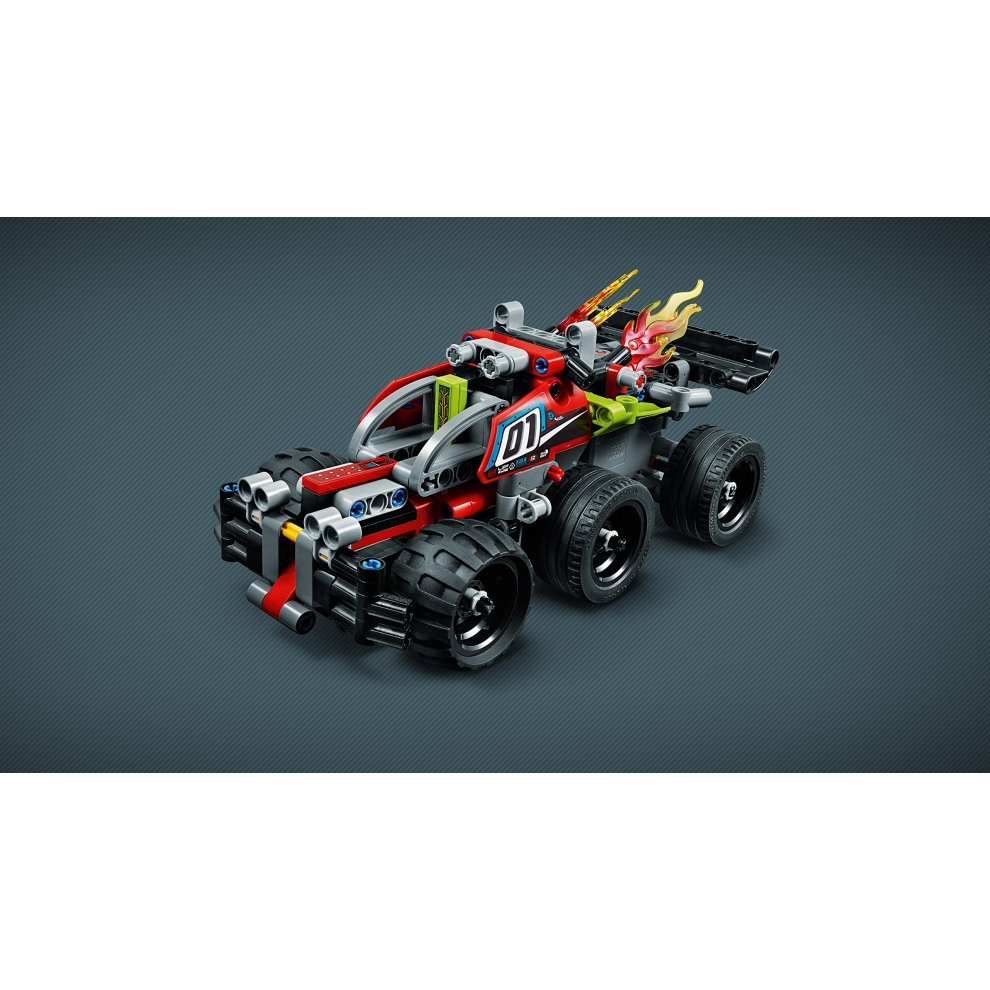 Pull back motor Racing Car Toy 2 in 1 Advanc LEGO 42072 Technic Impulse WHACK