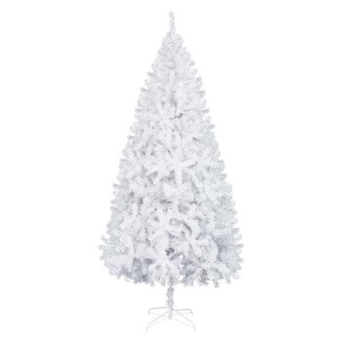 7FT Iron Leg White Christmas Tree with 950 Branches