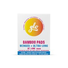 Glo Bamboo Long Pads for Sensitive Bladder (10 pads)