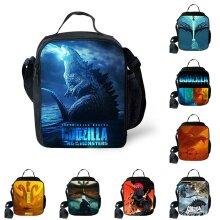 Godzilla Lunch Bag Insulated School Picnic Handbag