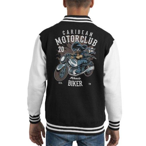 Carribean Motor Club Pirate Kid's Varsity Jacket