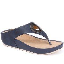 Bellissimo - Metallic Toe Post Sandal