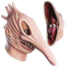 Halloween Adam Barbara Latex Full Head Mask Horror Fancy Dress Party Props
