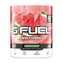 G Fuel Watermelon Tub (40 Servings) Elite Energy and Endurance Formula,net Weight 9.8 Ounce(280 Gram)