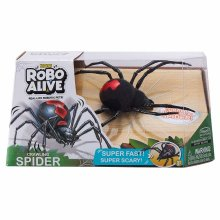 Robo Alive Spider 7111 Series 1 Toy, Black, One Size