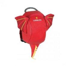 LittleLife Dragon Toddler Animal Backpack School Bag & Safety Rein Childrens