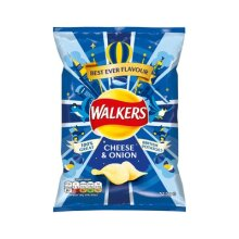 Walkers Cheese & Onion 32.5 X 32 bags