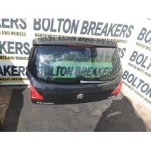09-13 Peugeot 3008 Sport 120 Mpv 5 Door Tailgate Black  KTVD - Used