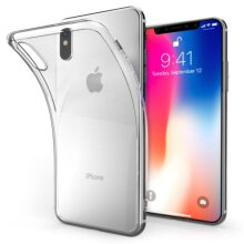 Clear Soft TPU Protective Case Cover For Apple iPhone