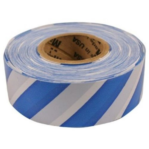 C H Hanson 214572 17065 Blu & Wht Strip Flag Tape