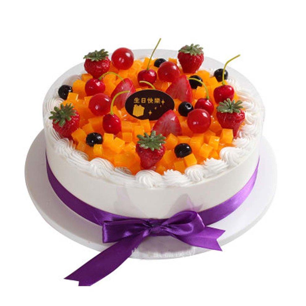 Pleasant Window Sample Birthday Cake Model Pretend Fruit Cake Decoration Funny Birthday Cards Online Overcheapnameinfo