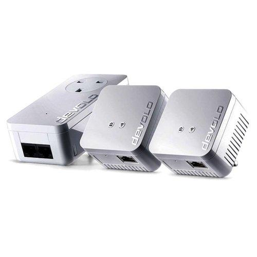 Devolo dLAN 550 WiFi Network Kit 500Mbit/s Ethernet LAN Wi-Fi White 3pc(s)