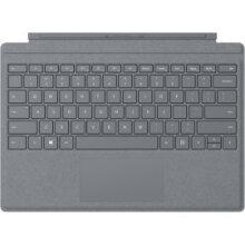 Microsoft Surface Signature Type Cover mobile device keyboard QWERTY Platinum Microsoft Cover port