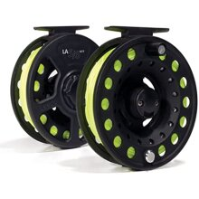 Leeda #7/8 rtf Ready to fish fly reel
