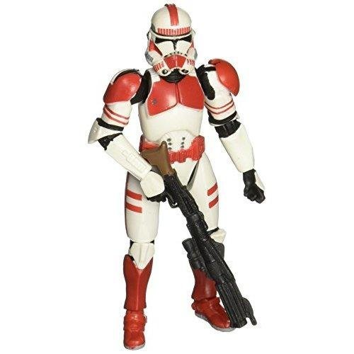 Star Wars Revenge Of The Sith Clone Trooper Quick Draw Attack Red Shock Trooper On Onbuy