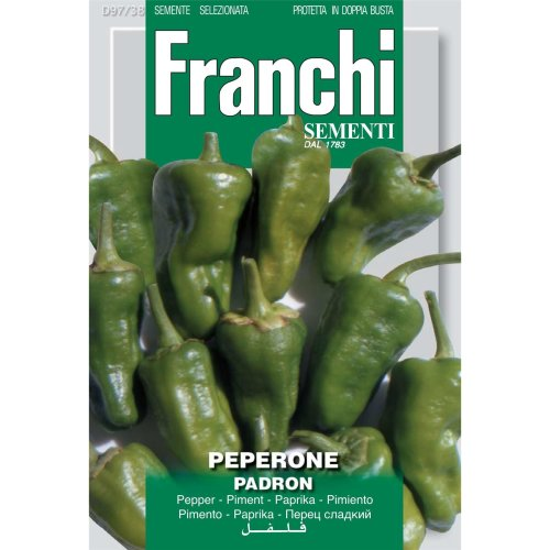 Franchi Seeds of Italy - DBO 97/38 - Pepper - Padron - Seeds