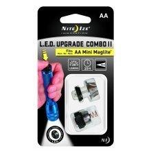 Niteize Led + Tail Switch Kit - Mini Aa Maglite Led Bulb Upgrade 30 Lumen