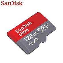 SanDisk ultra 128GB micro SDXC UHS-I class 10 memory card 120MB/S