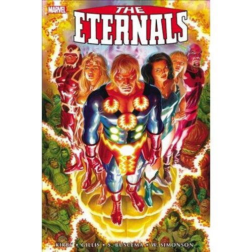 The Eternals: The Complete Saga Omnibus | Hardback
