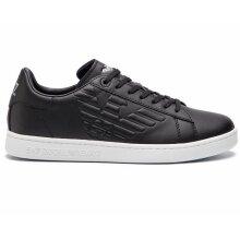Emporio Armani X8X001 XCC51 Leather Trainers Black