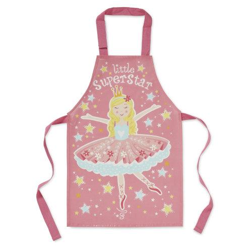 Cooksmart Kids PVC Apron, Little Superstar
