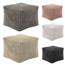 Square Bean Bag Foot Rest Footstool Pouffe Cube
