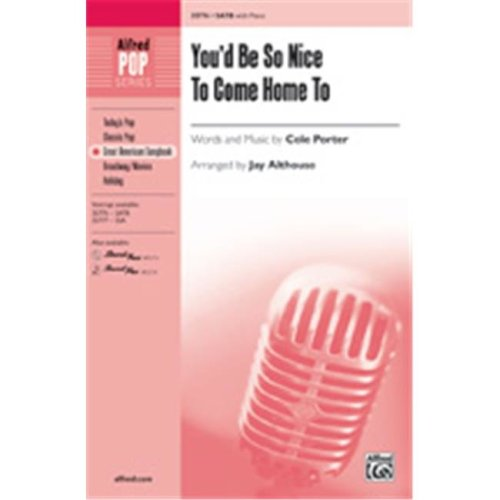 Alfred 00-35778 YOUD BE SO NICE COME HOME-STRX CD