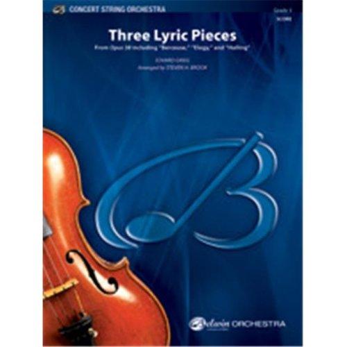 Alfred 00-41226 THREE LYRIC PIECES-BCS