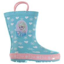 Character Kids Infants Wellies Girls Boots Shoes Pull On Wellingtons
