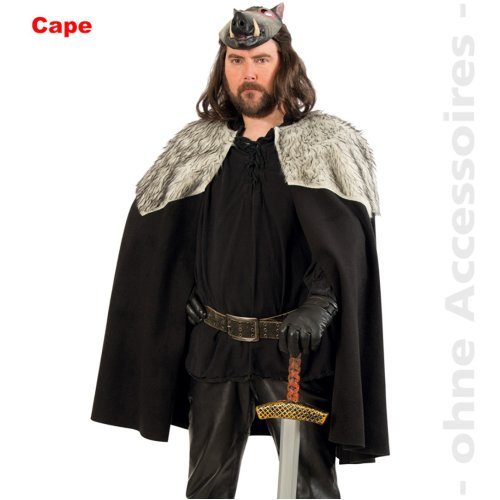 Barbarians Cape Costume Men Vikings cloak Male costume Size Uni