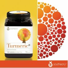 Youtheory Turmeric Advanced Formula, 180 Tablets (2 Months Supply)