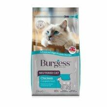 Burgess Cat Neutered, chicken 1.5kg