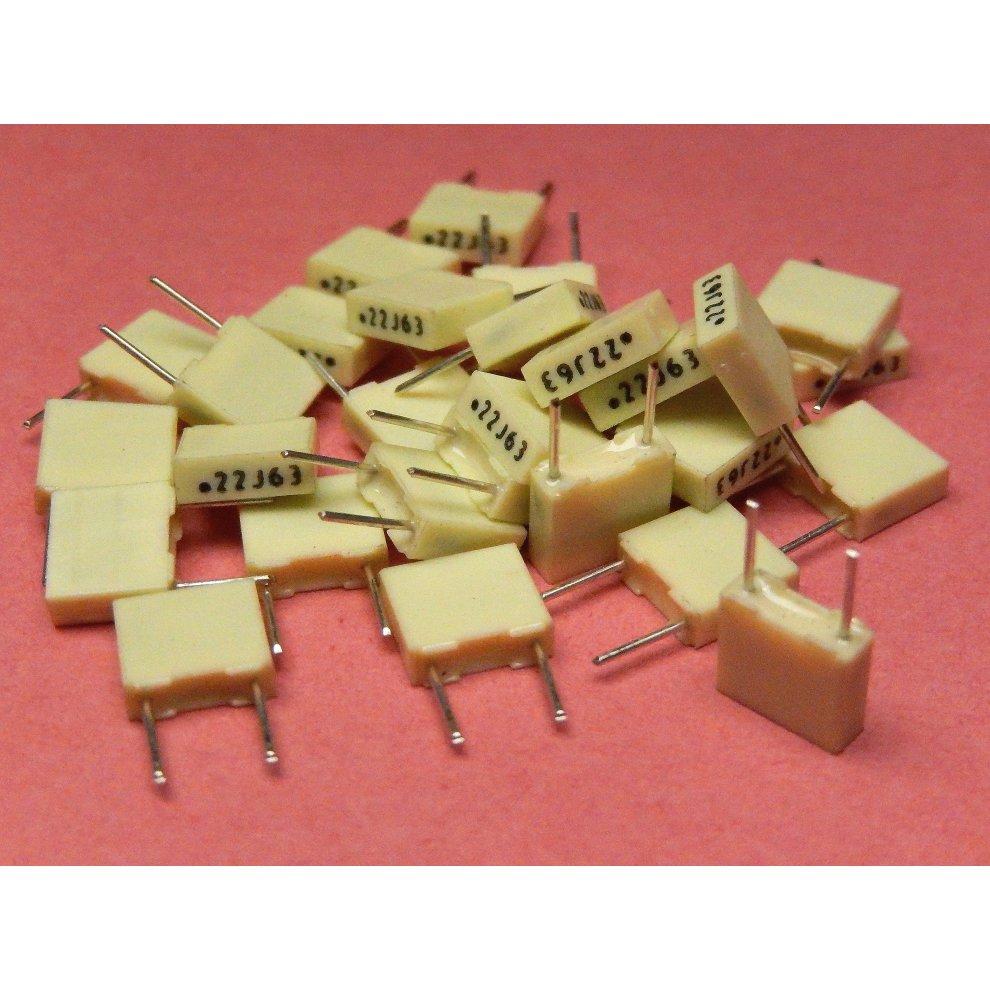 Film Capacitors 220 nF Pack of 50