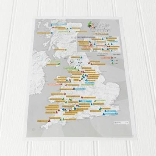 Cycle Climbs Collect and Scratch Print