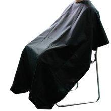 Black Hairdressers' Gown   Adjustable Salon Cape