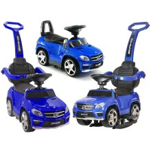 Licensed Mercedes GL63 Multi-Function Foot to Floor Ride on Kids Car Blue