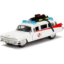 Jada- Ghostbusters Car ECTO-1 Metal 1:32 Collection, White (253232000)