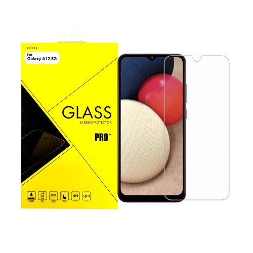 For Samsung Galaxy A12 Tempered Glass Screen Protector