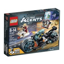 LEGO 70167 Ultra Agents Invizable Gold Getaway Toy