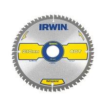 Irwin 1897441 Multi Material Circular Saw Blade 210 x 30mm x 60T TCG/Neg