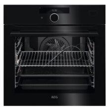 7000 SteamCrisp Electric Built:in Single Oven : Black