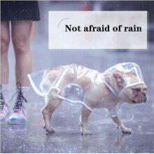 Dog Transparent Clean Raincoat
