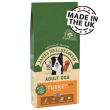 James Wellbeloved Adult Dog Food Turkey & Rice 15kg