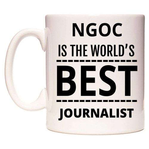 NGOC Is The World's BEST Journalist Mug