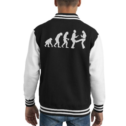 Anti Men Evolution Kid's Varsity Jacket