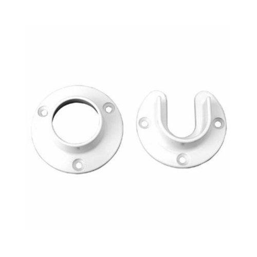 Knape & Vogt Manufacturing 217333 Cd-0010-Wt Pr Wht Pole Socket