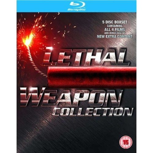 Lethal Weapon 1 to 4 Movie Collection Blu-Ray [2010]